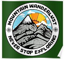 Mountain Wanderlust. Poster