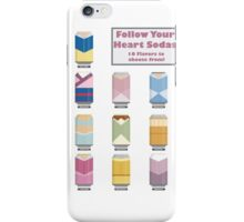 Follow Your Heart - Disney Princess Soda Cans iPhone Case/Skin