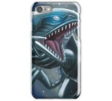Emerging Blue-eyes White Dragon iPhone Case/Skin