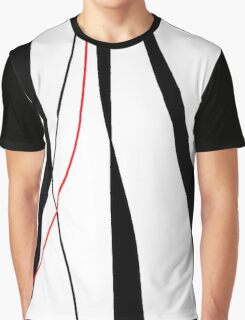 Red, white and black decor Graphic T-Shirt