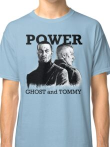 Ghost and Tommy Power TV Classic T-Shirt