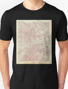USGS TOPO Map Arkansas AR IT Siloam Springs 521805 1904 125000 Unisex T-Shirt
