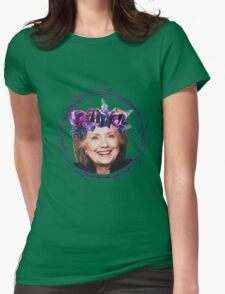Hillary Flower Crown Wreath!  Womens Fitted T-Shirt
