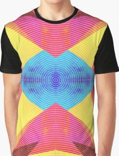 Geometrical hypnosis Graphic T-Shirt