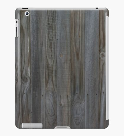 Simple Wooden Fence iPad Case/Skin