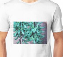 Jade Vine in Flower Unisex T-Shirt