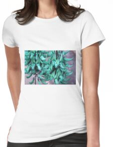 Jade Vine in Flower Womens Fitted T-Shirt