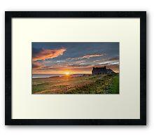 Ness Sunrise, Isle of Lewis Framed Print