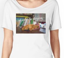 I'd rather be sleeping - meow Women's Relaxed Fit T-Shirt