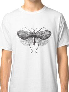 Antique Moth illustration Classic T-Shirt