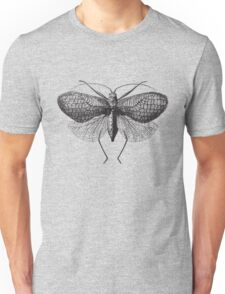 Antique Moth illustration Unisex T-Shirt