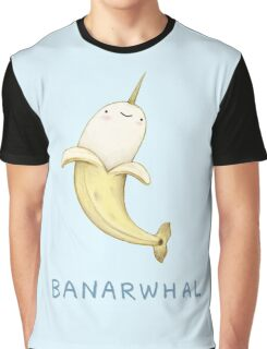Banarwhal Graphic T-Shirt
