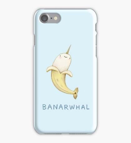 Banarwhal iPhone Case/Skin