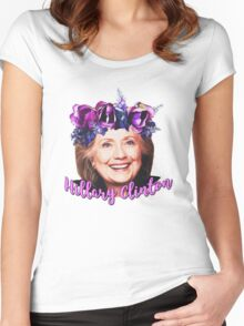 Hillary Clinton  Women's Fitted Scoop T-Shirt