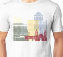 Albuquerque skyline poster Unisex T-Shirt