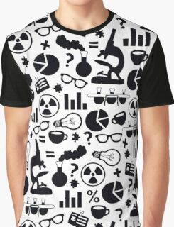 Science Pattern Graphic T-Shirt