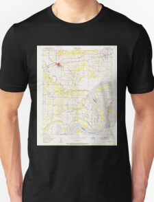 USGS TOPO Map Arkansas AR Alma 257856 1951 24000 Unisex T-Shirt
