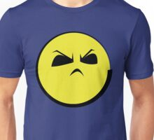 "Angry Face (Yellow Emoticon) ""Humph""  Unisex T-Shirt"
