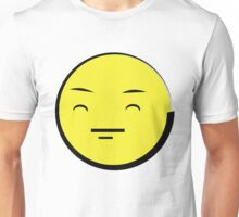 Happy Anime Face  (Yellow Emoticon) ^_^ Unisex T-Shirt