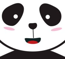 Panda Police Officer Sticker