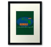 Visit Hawaii Framed Print