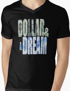 Dollar and a Dream Mens V-Neck T-Shirt