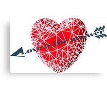Love concept Canvas Print