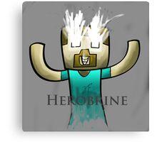 Minecraft Herobrine :) Canvas Print