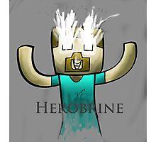 Minecraft Herobrine :) Photographic Print