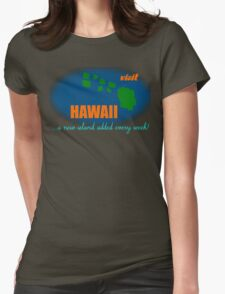 Visit Hawaii Womens Fitted T-Shirt