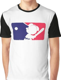 Peanuts League Baseball Graphic T-Shirt