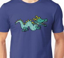 Anime Cartoon Happy Chinese Dragon Unisex T-Shirt