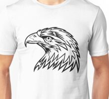 Eagle Head Drawing Unisex T-Shirt