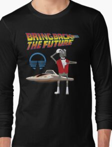 Bring Back the Future Horizons Robot Butler Long Sleeve T-Shirt