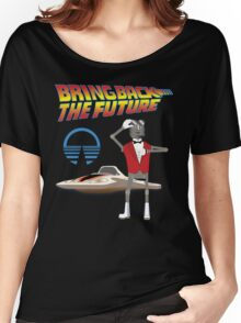 Bring Back the Future Horizons Robot Butler Women's Relaxed Fit T-Shirt