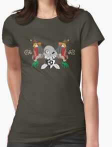 Return to the Graveyard Womens Fitted T-Shirt