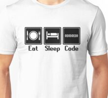 Eat Sleep Code Unisex T-Shirt
