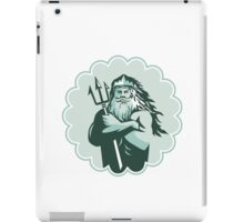 Triton Arms Crossed Trident Rosette iPad Case/Skin