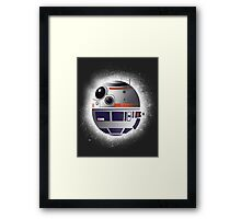 Space droid Framed Print