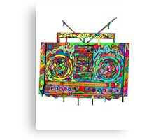 Boom Box Canvas Print