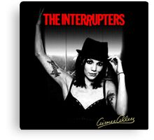 Aimee The Interrupters Canvas Print
