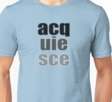Acquiesce to Blur Your Life Unisex T-Shirt