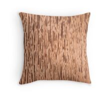 Rust Copper Textured Throw Pillow