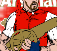 "Aaron ""Rambo"" Ramsey Sticker"