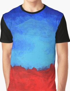 Red Earth Graphic T-Shirt