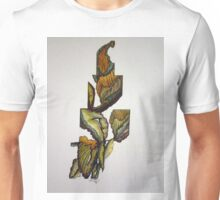 PLANT DESIGN IN STACKED BOXES Unisex T-Shirt