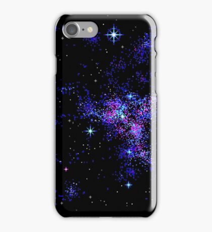 Lo-Res Space EGA iPhone Case/Skin