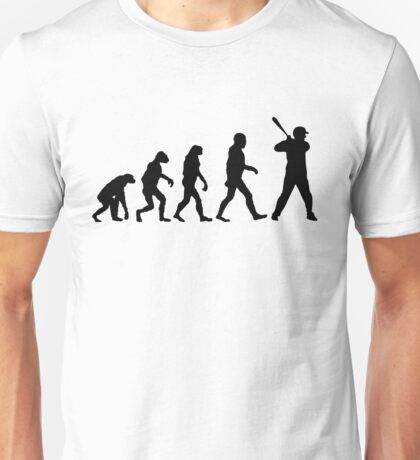 Evolution of Baseball Unisex T-Shirt