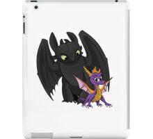 Spyro and Toothless iPad Case/Skin