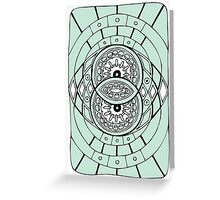 Vesica Pisces Greeting Card
